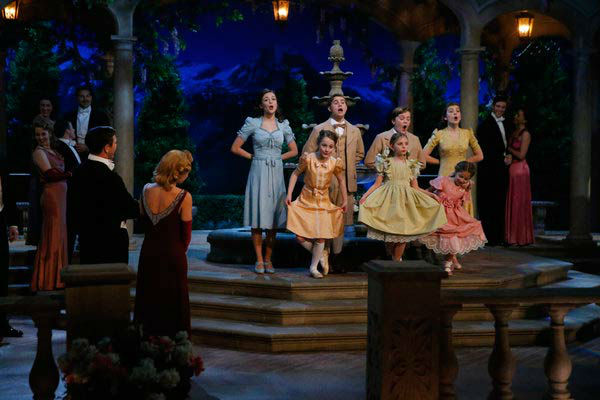 Left-Right: Ariane Rinehart as Liesl, Michael Nigro as Friedrich, Joe West as Kurt, Ella Watts-Gorman as Louisa, Sophia Grace Caruso as Brigitta, Grace Rundhaug as Marta and Peyton Ella as Gretl appear in a photo from &#39;The Sound of Music Live!&#39; rehearsal. The show airs on Dec. 5, 2013. <span class=meta>(Will Hart&#47;NBC)</span>