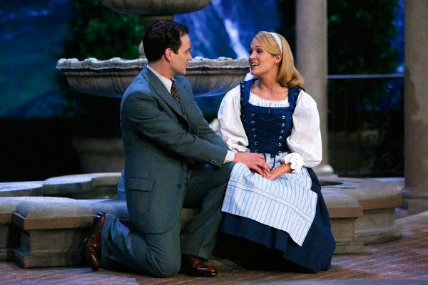 Stephen Moyer as Captain Von Trapp and Carrie Underwood