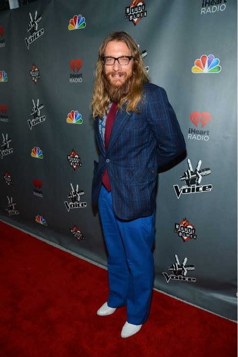 "<div class=""meta ""><span class=""caption-text "">'The Voice' contestant Nicholas David ('Team Cee Lo') walks the red carpet before the NBC show's special concert to celebrate the announcement of the top 12, held at the House of Blues in Los Angeles on Nov. 8, 2012. (Frazer Harrison / NBC)</span></div>"