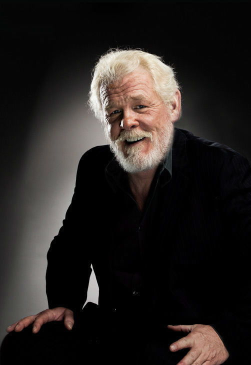 Nick Nolte, who is an Academy Award Nominee for 'Actor in a Supporting Role' for his work in 'Warrior,' appears in a portrait taken by Douglas Kirkland on February 6, 2012.