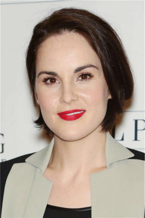 &#39;Downton Abbey&#39; actress Michelle Dockery attends the &#39;Downton Abbey&#39; photo call at The Beverly Hilton Hotel on Aug. 6, 2013 in Beverly Hills, California. <span class=meta>(Chris Hatcher &#47; startraksphoto.com)</span>