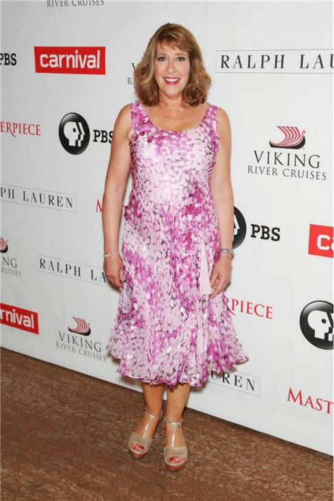 "<div class=""meta image-caption""><div class=""origin-logo origin-image ""><span></span></div><span class=""caption-text"">'Downton Abbey' actress Phyllis Logan attends the 'Downton Abbey' photo call at The Beverly Hilton Hotel on Aug. 6, 2013 in Beverly Hills, California. (Chris Hatcher / startraksphoto.com)</span></div>"