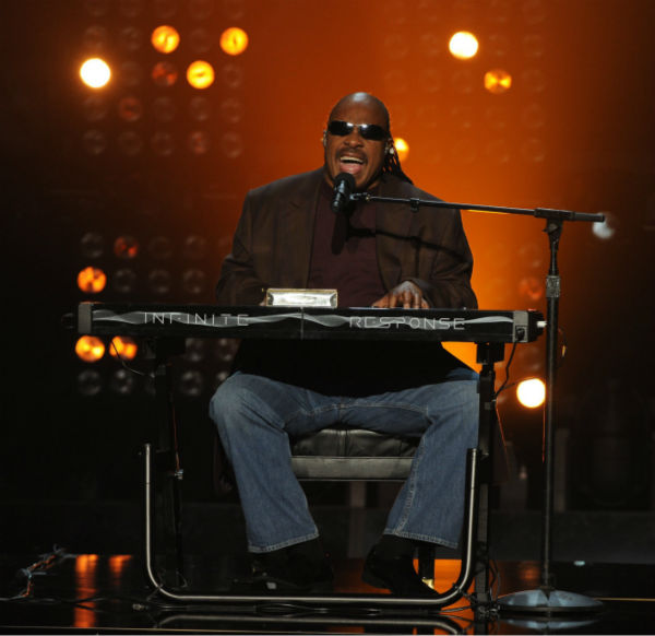 Stevie Wonder performs on &#39;The X Factor&#39; finale on Dec. 22, 2011. <span class=meta>(Ray Mickshaw &#47; FOX)</span>