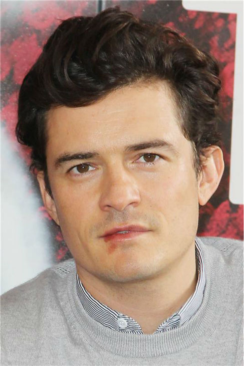 Orlando Bloom, star of the upcoming Broadway production of 'Romeo and Juliet,' is seen on Aug. 7, 2013 arriving at the show's new home, the Richard Rodgers Theatre, for the first time.