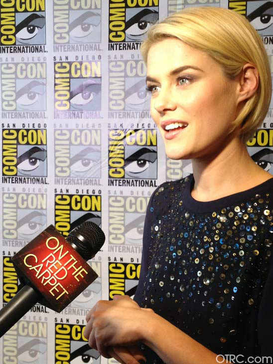Rachael Taylor of the new television series &#39;666 Park Avenue&#39; appears in a photo at San Diego Comic-Con on Friday, July 13, 2012. <span class=meta>(OTRC Photo)</span>
