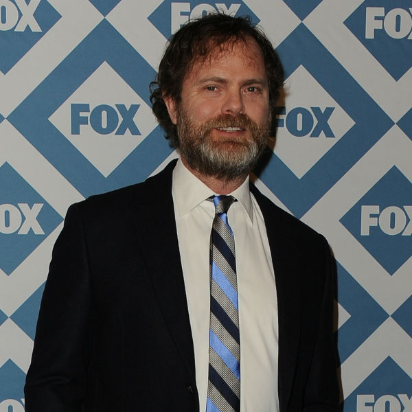Rainn Wilson &#40;played Dwight on &#39;The Office,&#39; now stars in new FOX series &#39;Backstrom&#39;&#41; appears at the FOX Winter 2014 event&#39;s all-star party at the Langham Hotel in Pasadena, California on Monday, Jan. 13, 2014. <span class=meta>(Scott Kirkland &#47; FOX)</span>