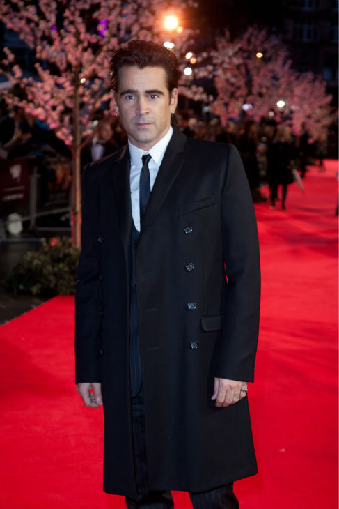 "<div class=""meta image-caption""><div class=""origin-logo origin-image ""><span></span></div><span class=""caption-text"">Colin Farrell attends the world premiere of Disney's 'Saving Mr. Banks' at the closing night of the 57th BFI London Film Festival at the Odeon Leicester Square theater in London on Oct. 20, 2013. (David Dettmann / Walt Disney Studios)</span></div>"