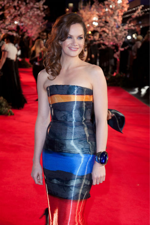 Ruth Wilson attends the world premiere of Disney&#39;s &#39;Saving Mr. Banks&#39; at the closing night of the 57th BFI London Film Festival at the Odeon Leicester Square theater in London on Oct. 20, 2013. <span class=meta>(David Dettmann &#47; Walt Disney Studios)</span>