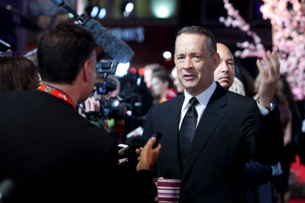 Tom Hanks attends the world premiere of Disney&#39;s &#39;Saving Mr. Banks&#39; at the closing night of the 57th BFI London Film Festival at the Odeon Leicester Square theater in London on Oct. 20, 2013.2013. <span class=meta>(David Dettmann &#47; Walt Disney Studios)</span>