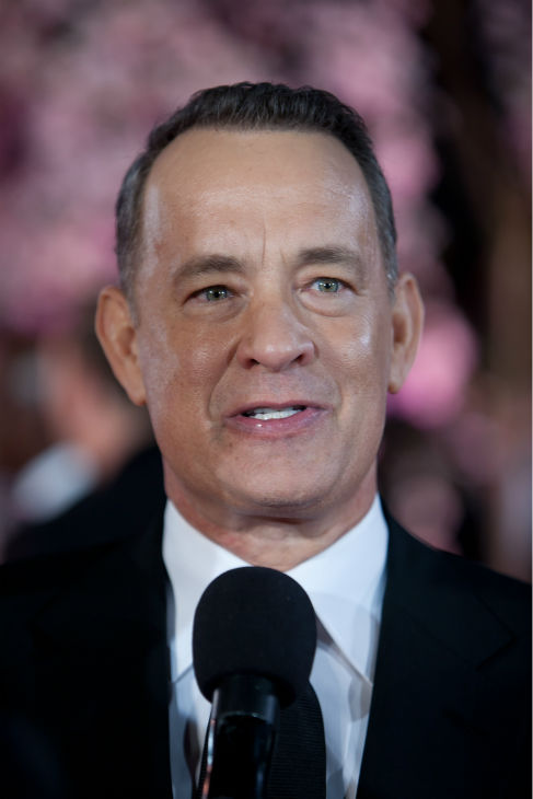 Tom Hanks attends the world premiere of Disney&#39;s &#39;Saving Mr. Banks&#39; at the closing night of the 57th BFI London Film Festival at the Odeon Leicester Square theater in London on Oct. 20, 2013. <span class=meta>(David Dettmann &#47; Walt Disney Studios)</span>