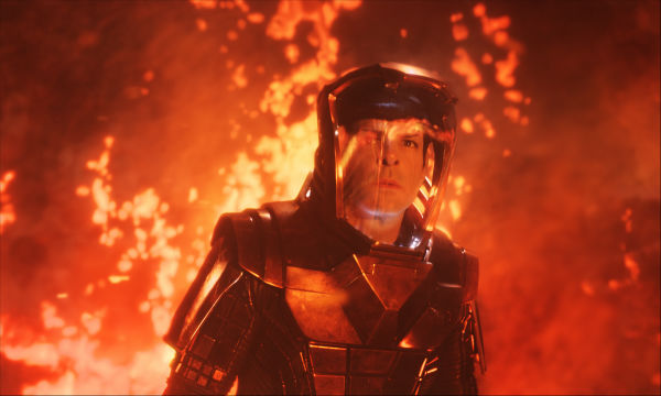 "<div class=""meta image-caption""><div class=""origin-logo origin-image ""><span></span></div><span class=""caption-text"">Zachary Quinto (Spock) appears in a scene from the 2013 film 'Star Trek Into Darkness.' (Industrial Light and Magic / Paramount Pictures)</span></div>"