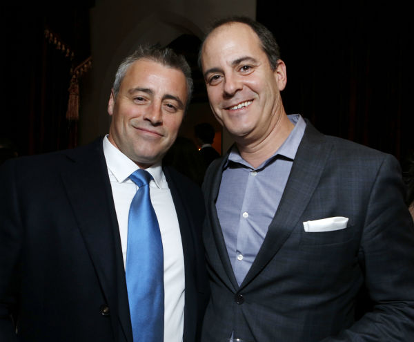 'Episodes' star and Golden Globe nominee Matt LeBlanc and David Nevins (Showtime's President Of Entertainment) attend a Showtime dinner celebrating the cable channel's 2013 Golden Globe Nominees on Jan. 12, 2013 at Chateau Marmont in West Hollywood, Calif
