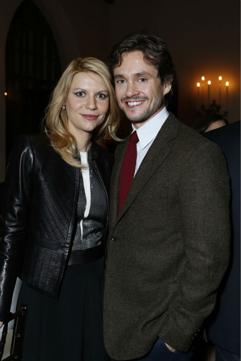 Golden Globe nominee and 'Homeland' star Claire Danes and husband Hugh Dancy attend a Showtime dinner celebrating the cable channel's 2013 Golden Globe Nominees on Jan. 12, 2013 at Chateau Marmont in West Hollywood, California.