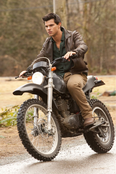 Taylor Lautner appears in a scene from 'The Twilight Saga: Breaking Dawn - Part 1.'