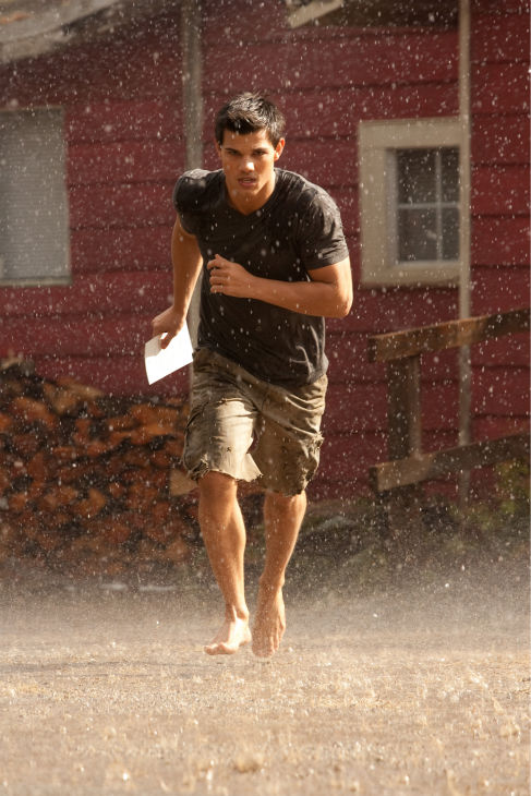 Taylor Lautner appears in a scene from 'The...