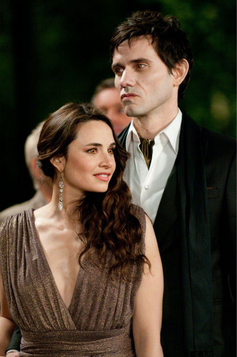 "<div class=""meta image-caption""><div class=""origin-logo origin-image ""><span></span></div><span class=""caption-text"">Mia Maestro and Christian Camargo appear in a scene from 'The Twilight Saga: Breaking Dawn - Part 1.' (Summit Entertainment / Andrew Cooper)</span></div>"
