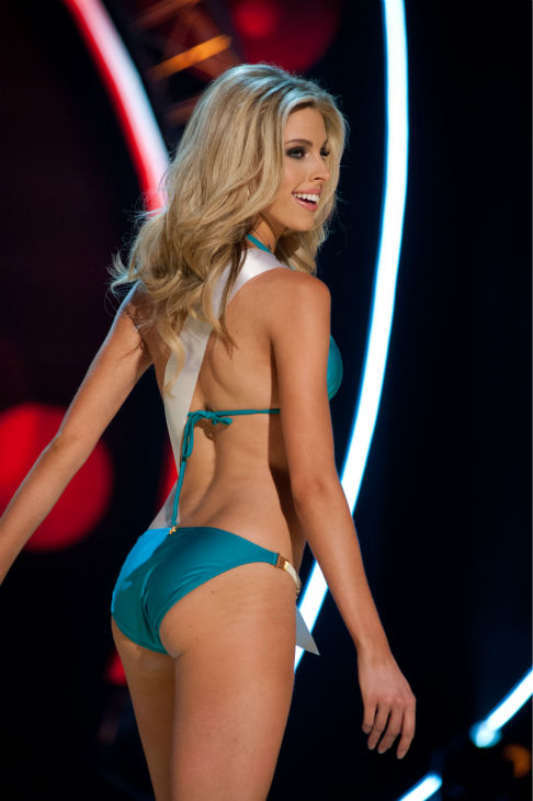 "<div class=""meta image-caption""><div class=""origin-logo origin-image ""><span></span></div><span class=""caption-text"">Miss Oklahoma USA 2013, Makenzie Muse, 21, competes in her ViX Paula Hermanny swimsuit and Chinese Laundry shoes during the 2013 MISS USA Competition Preliminary Show at PH Live in Las Vegas, Nevada on Wednesday, June 12, 2013. (Patrick Prather / Miss Universe Organization L.P.)</span></div>"