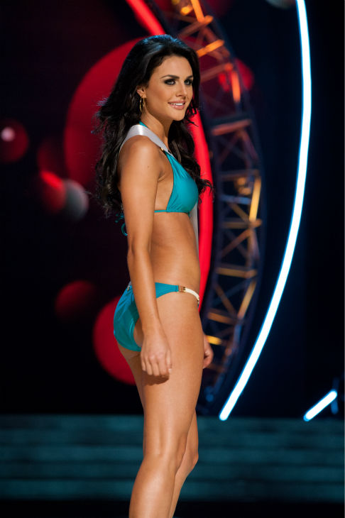 "<div class=""meta ""><span class=""caption-text "">Miss Texas USA 2013, Ali Nugent, 20, competes in her ViX Paula Hermanny swimsuit and Chinese Laundry shoes during the 2013 MISS USA Competition Preliminary Show at PH Live in Las Vegas, Nevada on Wednesday, June 12, 2013. (Patrick Prather / Miss Universe Organization L.P.)</span></div>"