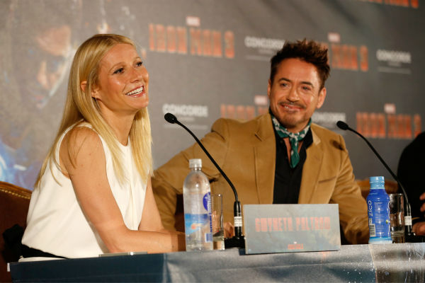 "<div class=""meta image-caption""><div class=""origin-logo origin-image ""><span></span></div><span class=""caption-text"">Gwyneth Paltrow and Robert Downey Jr. attend the 'Iron Man 3' photo call at Hotel Bayerischer Hof in Munich, Germany on April 12, 2013. (Walt Disney Studios)</span></div>"