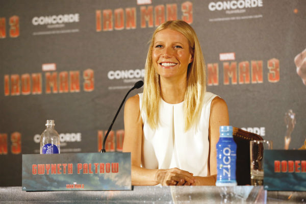 Gwyneth Paltrow attends the &#39;Iron Man 3&#39; photo call at Hotel Bayerischer Hof in Munich, Germany on April 12, 2013. <span class=meta>(Walt Disney Studios)</span>