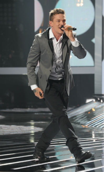 Chris Rene performs his original song 'Young Homie' on 'The X Factor' pre-finale on Dec. 21, 2011 on FOX.