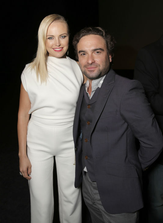 Malin Akerman and Johnny Galecki attend the West Coast premiere of &#39;CBGB&#39; at the ArcLight Hollywood theater in Los Angeles on Tuesday, Oct. 1, 2013. The event was sponsored by Ciroc. <span class=meta>(Todd Williamson &#47; Invision for Ciroc &#47; AP)</span>
