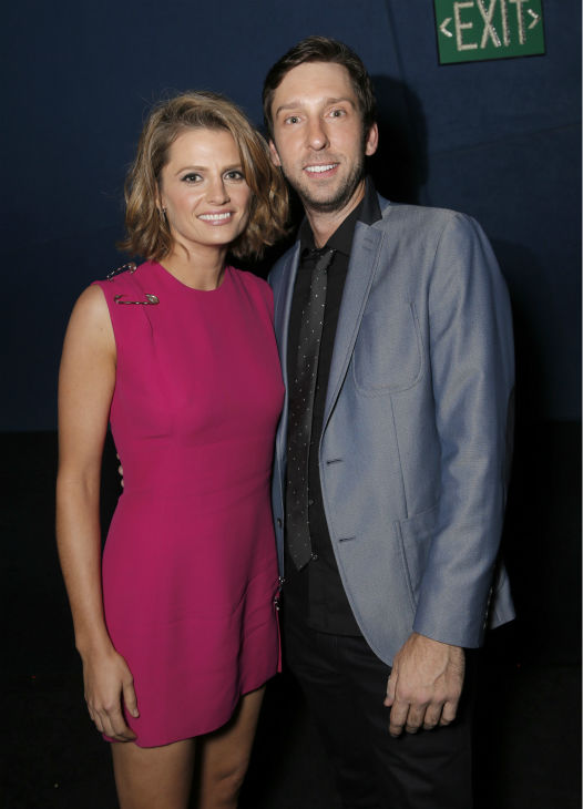 Stana Katic and Joel David Moore attend the West Coast premiere of &#39;CBGB&#39; at the ArcLight Hollywood theater in Los Angeles on Tuesday, Oct. 1, 2013. The event was sponsored by Ciroc. <span class=meta>(Todd Williamson &#47; Invision for Ciroc &#47; AP)</span>