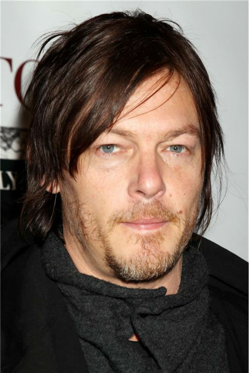 The &#39;All-Bundled-Up&#39; stare: Norman Reedus appears at a screening for the movie &#39;Stoker,&#39; starring Nicole Kidman and Mia Wasikowska, in New York on Feb. 27, 2013. <span class=meta>(Dave Allocca &#47; Startraksphoto.com)</span>