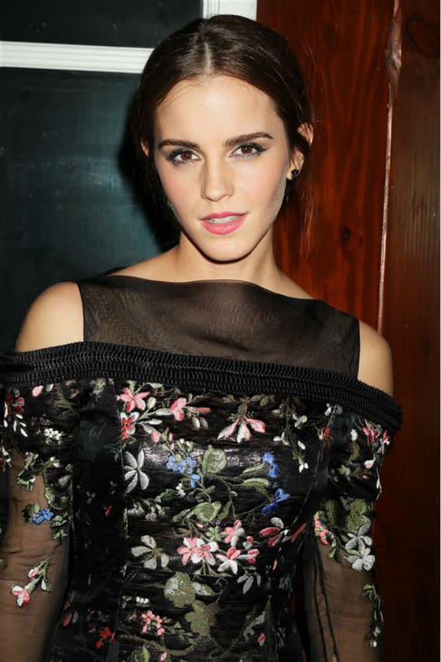 "<div class=""meta image-caption""><div class=""origin-logo origin-image ""><span></span></div><span class=""caption-text"">Emma Watson appears at the after party for the premiere of 'Noah' at The Boathouse in New York on March 26, 2014. She is wearing a black, sheer and floral Erdem Fall 2014 Ready-To-Wear dress. The actress plays Ila, wife of Noah's son Shem, in Darren Aronofsky's movie.</span></div>"