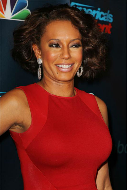 &#39;America&#39;s Got Talent&#39; co-judge Mel B poses on the red carpet after the season 8 finale at Radio City Music Hall in New York on Sept. 18, 2013. <span class=meta>(Amanda Schwab &#47; Startraksphoto.com)</span>