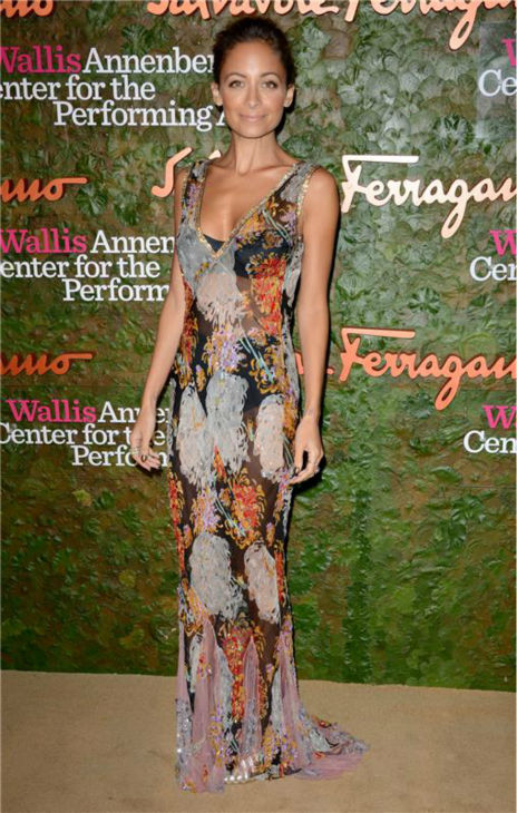 Nicole Richie attends the Wallis Annenberg Center for the Performing Arts Inaugural Gala, presented by Salvatore Ferragamo, at the Wallis Annenberg Center in Beverly Hills on Oct. 17, 2013. <span class=meta>(Lionel Hahn &#47; AbacaUSA &#47; Startraksphoto.com)</span>