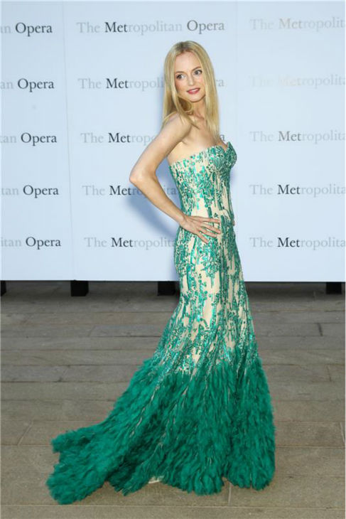 Heather Graham attends the New York Metropolitan Opera&#39;s season opening performance Of Tchaikovsky&#39;s &#39;Eugene Onegin&#39; on Sept. 23, 2013. <span class=meta>(Marion Curtis &#47; Startraksphoto.com)</span>