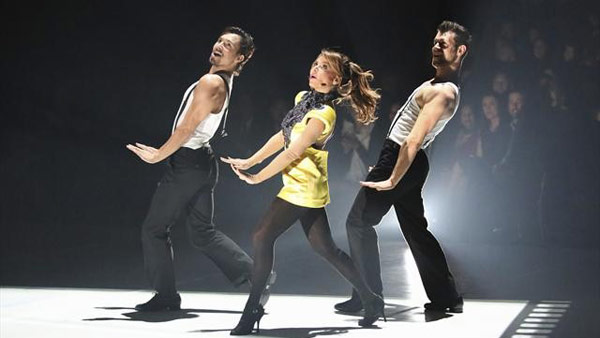 Paula Abdul returned to the ballroom to perform in the final 'Macy's Stars of Dance' on 'Dancing With The Stars: The Results Show' on November 20, 2012.
