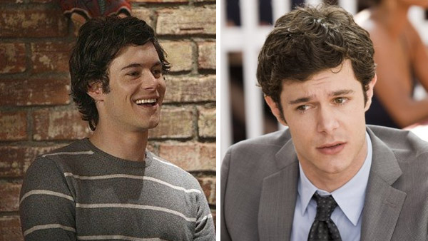 Pictured: Adam Brody appears in a scene from 'The O.C.' / Adam Brody appears in a scene from 'Cop Out.'