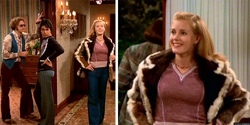 Amy Adams appears as Kat Peterson on an episode of 'That '70s Show' in 2000.