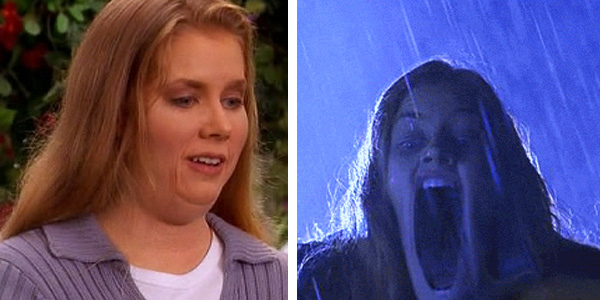 Amy Adams appears in a scene from a 2001 episode...