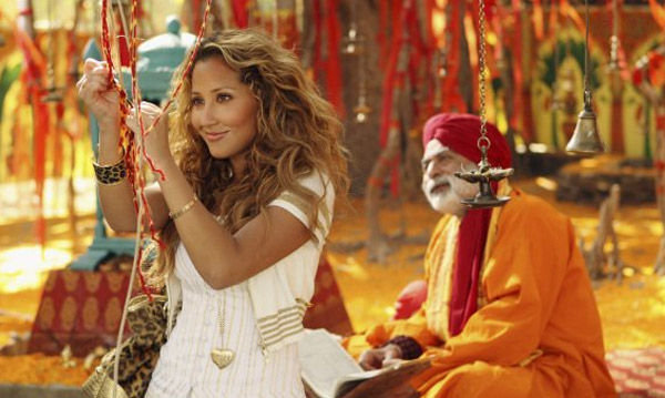 Adrienne Bailon appears in a scene from the 2008 film 'The Cheetah Girls: One World.'