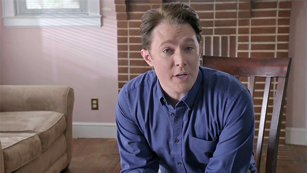 Clay Aiken appears in a campaign video in which he announces why he's running for Congress in North Carolina in 2014. The clip was posted on his official YouTube page on Feb. 5.