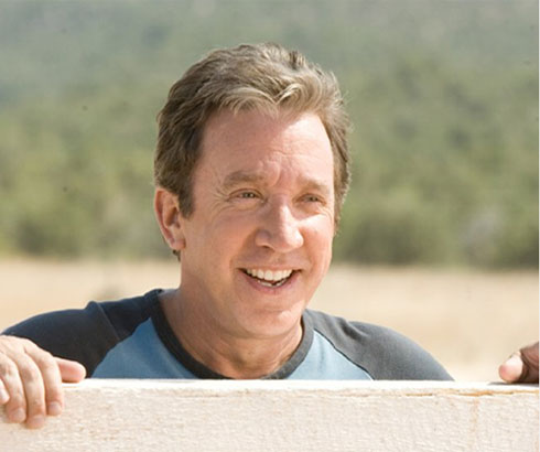 Tim Allen in a scene from the 2010 movie, 'Wild Hogs.'