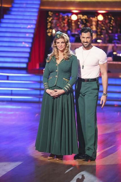 Actress Kirstie Alley and her partner Maksim...
