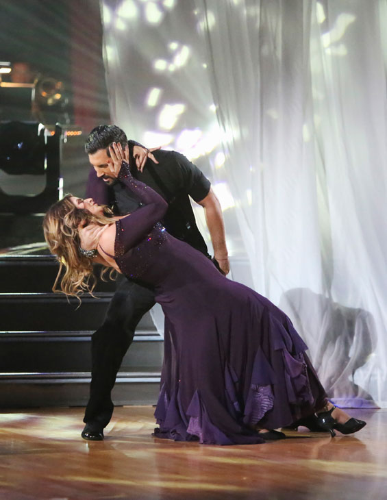 Kirstie Alley and Maksim Chmerko