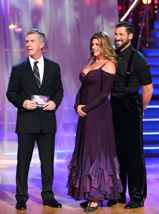 Kirstie Alley and Maksim Chmerkov