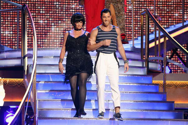 "<div class=""meta ""><span class=""caption-text "">Actress Kirstie Alley and her partner Maksim Chmerkovskiy received 21 out of 30 points from the judges for their Jive on week two of 'Dancing With The Stars: All-Stars,' which aired on Oct. 1, 2012. (ABC / Adam Taylor)</span></div>"