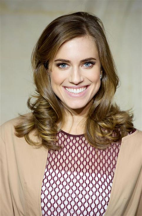Allison Williams appears at the Christian Dior Spring-Summer 2014 Haute-Couture collection show held at Musee Rodin in Paris on Jan. 20, 2014. Her rep confirmed to OTRC.com on Feb. 26 that the 'Girls' star is engaged to Ricky Van Veen.