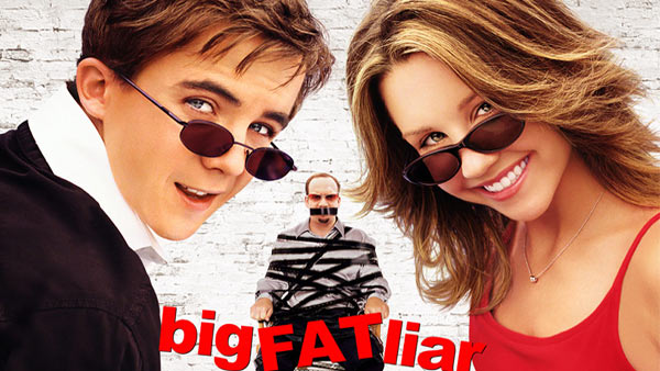 Amanda Bynes starred in the 2002 comedy film, &#39;Big Fat Liar,&#39; alongside Frankie Muniz. The movie, which follows the pair as they engage in a number of outrageous hijinks, also stars Paul Giamatti.  &#40;Pictured: Amanda Bynes appears in a scene from her 2002 adventure film, &#39;Big Fat Liar.&#39;&#41; <span class=meta>(Paramount Pictures)</span>