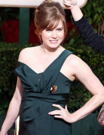 Amy Adams appears in a photo from the Golden Globe Awards on Jan. 17, 2010.