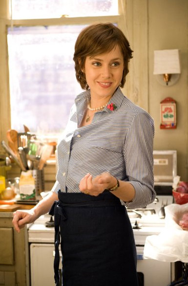 Amy Adams played blogger Julie Powell, who made it a goal to cook all the meals in the first book published by Julia Child, portrayed by Meryl Streep, in the 2009 film &#39;Julie and Julia.&#39; <span class=meta>(Columbia Pictures &#47; Easy There Tiger Productions &#47; Scott Rudin Productions)</span>