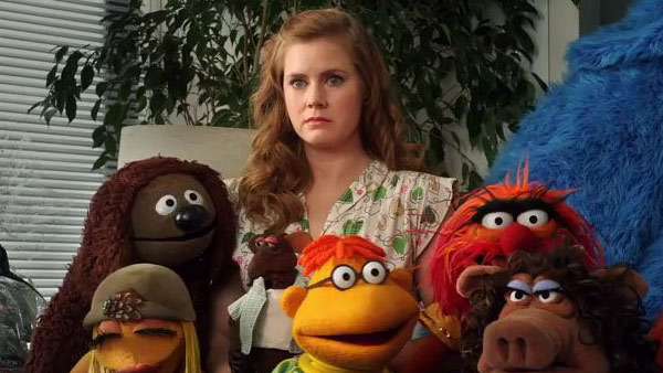 Amy Adams appears in a photo from the 2011 film &#39;The Muppets.&#39; The film also starred Jason Segel, Emily Blunt, Neil Patrick Harris, Jack Black and John Krasinski, among others. <span class=meta>(flickr.com&#47;photos&#47;capital_m&#47;)</span>