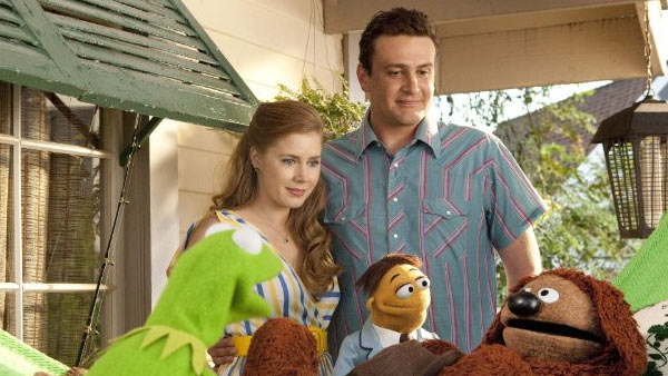 Amy Adams appears in a photo from the 2011 film 'The Muppets.' The film also starred Jason Segel, Emily Blunt, Neil Patrick Harris, Jack Black and John Krasinski, among others.