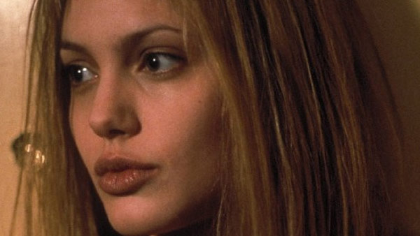 Angelina Jolie appears in a scene from the 1999 film 'Girl, Interrupted.'